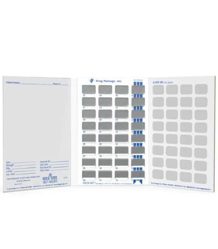 Multiple Dose Medication Blister Card